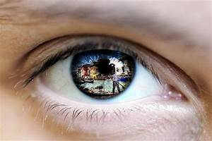 Eye Reflection With Photoshop