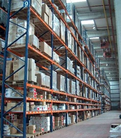 vertical storage rack selective pallet racks anti rust heavy duty