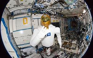 First Humanoid Robonaut Works with Astronauts on ISS ...