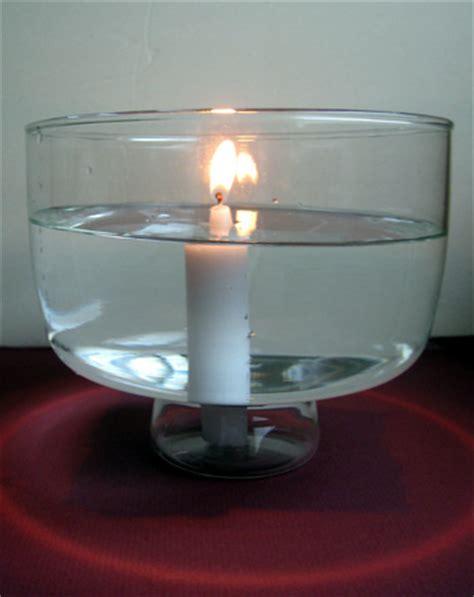 candle burning underwater activity educationcom