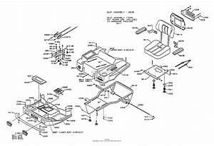 Dixon Ztr 5601  1997  Parts Diagram For Body Assembly