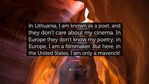 Jonas Mekas Quo... Lithuanian Love Quotes