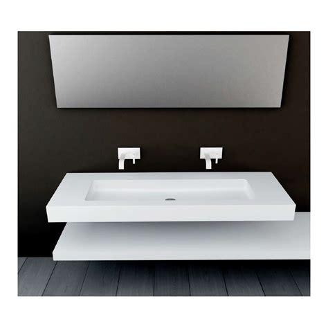 douchette cuisine plan vasque mural blanc mat soho solid surface vasque xl