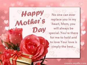 Happy Mothers Day Greetings 2018 - Mother's Day Wishes ...