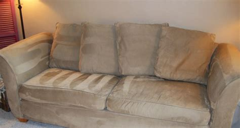 What To Do With Sofa by The Secrets To Cleaning A Microfiber Offbeat Home
