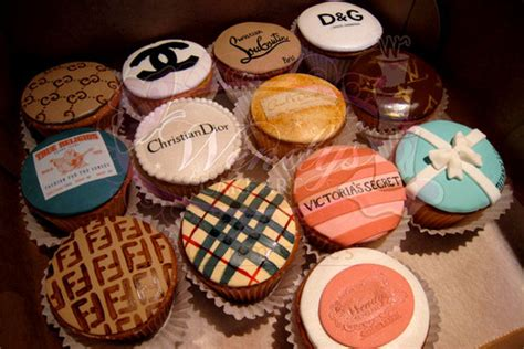 brands cakes chanel christian dior cool cupcake