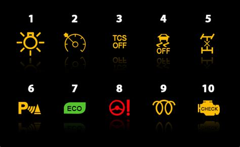 dashboard lights  detail service solutions didcot