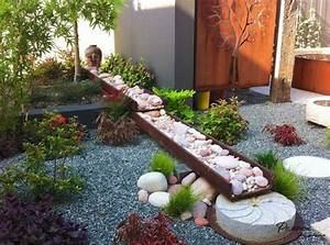 garden design ideas with pebbles With modele de rocaille pour jardin 4 faire jardin japonais rincon japones pinterest