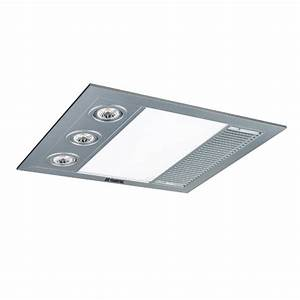 Martec Linear Mini Exhaust Fan Silver