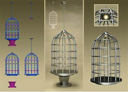 Laticis Cage Bird Imagery Object Deviantart 3d