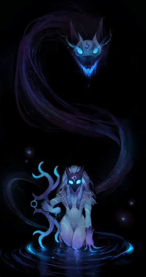kindred league  legends fan art art  lol