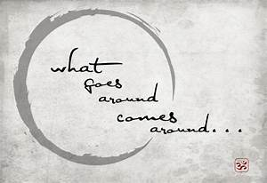 what goes around comes around | Design by Rita - Project 365