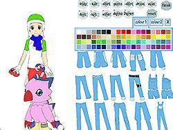 digimon character creator game play   ycom