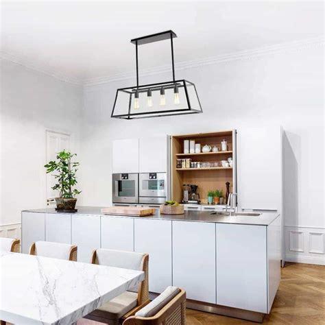 beautiful  modern kitchen island lighting inspirations