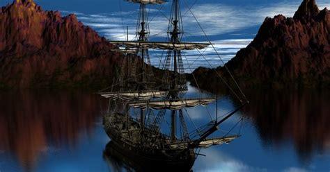 beautiful pirate ship arrghh ship ahoy underwater