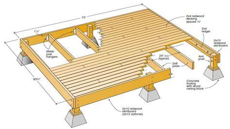 Porch Blueprints by Free Wood Deck Plans Free Deck Plans Blueprints Deck Plan
