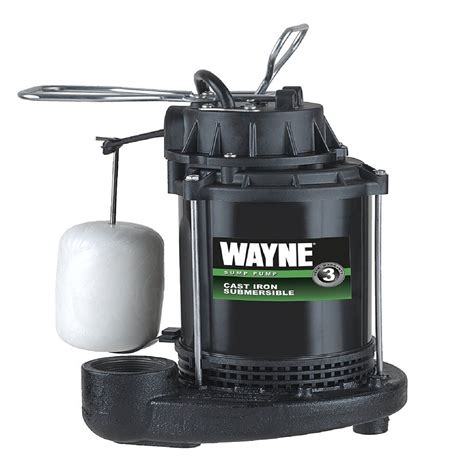 sump pump wayne submersible float switch vertical thermoplastic dimensions spf33