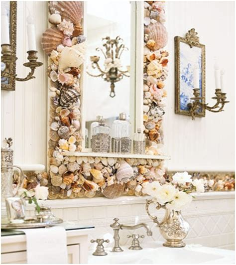 How To Decorate A Bathroom Mirror by Mirror Decorating Ideas