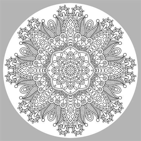 Coloring Mandala by Mandala By Karakotsya 1 M Alas Coloring Pages