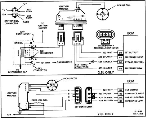 1987 S10 2 8 Engine Wiring Diagram by 1992 Chev S 10 2 8 L No Spark No Injector Pulse
