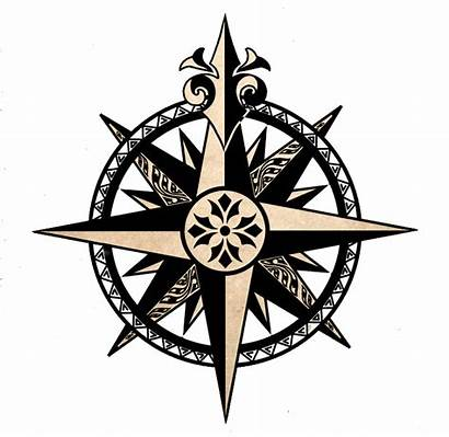Compass North Deviantart Tattoo Nautical Arrow True