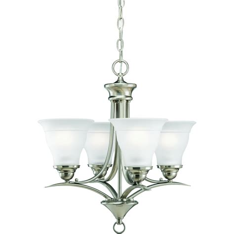 progress lighting trinity collection progress lighting trinity collection brushed nickel 4