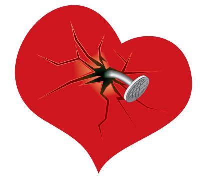 broken heart  png transparent image  clipart