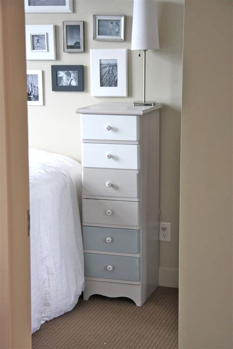 furniture modern skinny dresser  contemporary bedroom