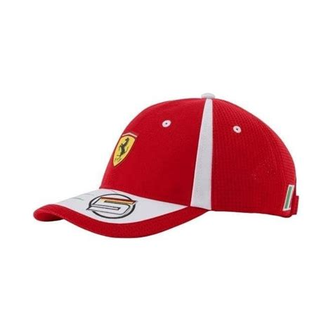 We also stock genuine merchandise from the aston martin red bull racing team and racing point f1 team (force india). Ferrari F1 Sebastian Vettel Puma Replica Cap 2018 ADULT - Motorsport Merchandise from Le Mans 88 UK