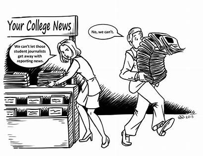 Censorship Newspaper College Records Roadblocks Thefts Newspapers