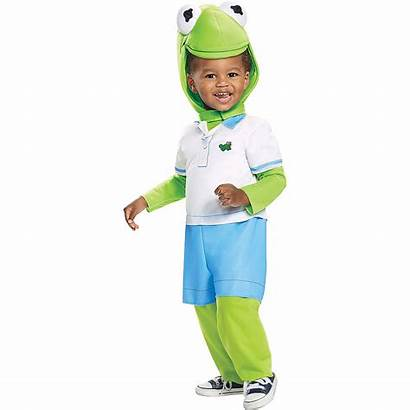 Kermit Frog Costume Muppet Babies Toddler Halloween