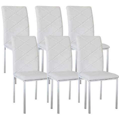 chaises design blanche lot de 6 chaise pas cher 28 images lot de 6 chaises de