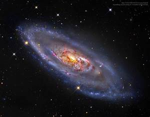 APOD: 2015 February 16 - M106: A Spiral Galaxy with a ...