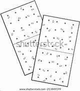 Crackers Cheese Coloring Saltine Vector Template Sketch sketch template