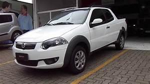 Fiat Strada Cab Dupla Trekking 1 6 16v  Flex  3p 2014