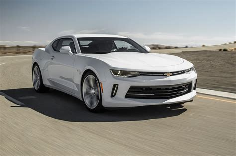 2016 Rs Camaro by 2016 Chevrolet Camaro Rs V 6 Test Motor Trend