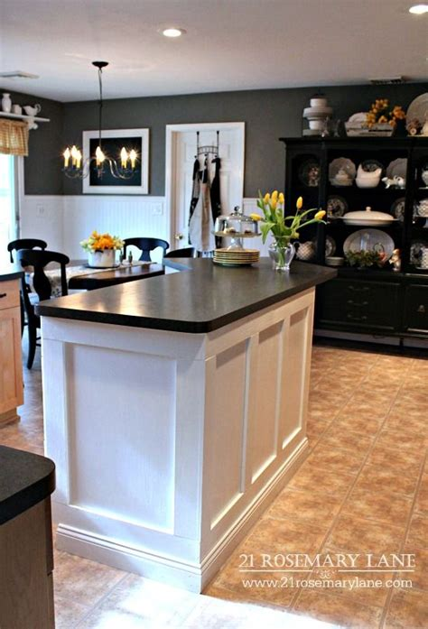 17 Best Ideas About Kitchen Island Makeover On Pinterest