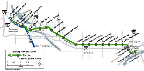 light rail mn green line two months left before cities are connected by light rail