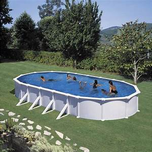 Grande Piscine Hors Sol : piscine hors sol acier san clara l 6 4 x l x h ~ Premium-room.com Idées de Décoration