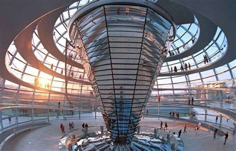 Reichstag Cupola The Reichstag Dom By Sir Norman Foster Berlin Germany