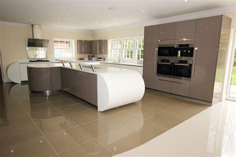 curved island kitchen designs curved kitchen island design contemporary kitchen