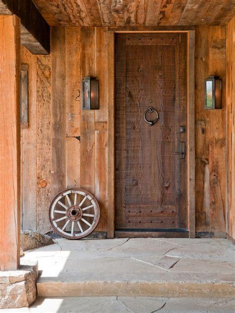 rustic front door design ideas remodel pictures houzz