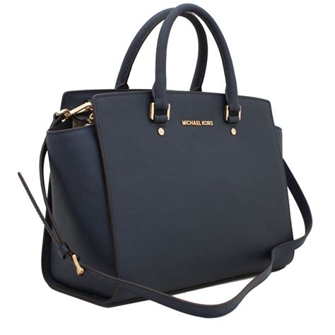 michael kors selma large saffiano satchel bag