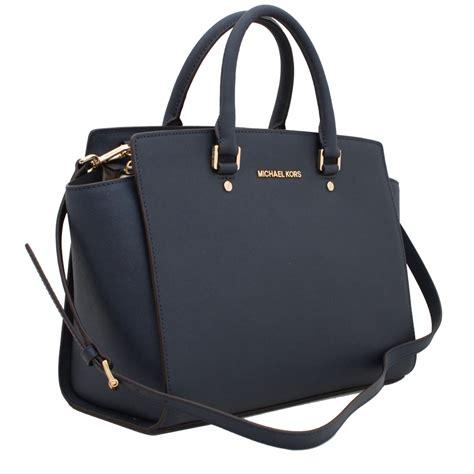 michael kors selma large saffiano leather satchel bag
