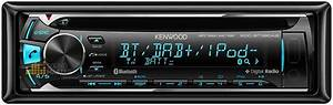 188  Kenwood Kdc-bt39dab Car Bluetooth Dab  Cd Player With Usb Ipod Android