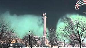 Tornado In Dowtown Chicago