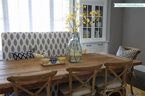summer dining table decor  sunny side  blog