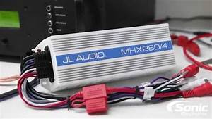 Jl Audio Mhx280  4 Marine Amplifier Dyno Test