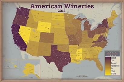 State Wineries Per America States Capita American