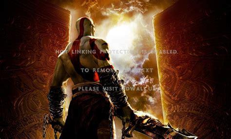god  war kratos video games  widescreen